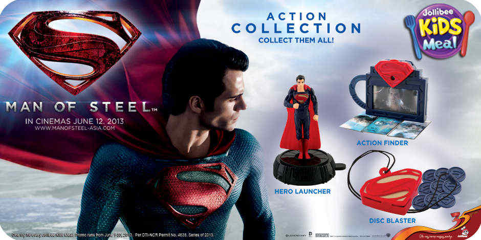 Jollibee Toys: Action Collection: Action Finder, Hero Launcher, Disc Blaster