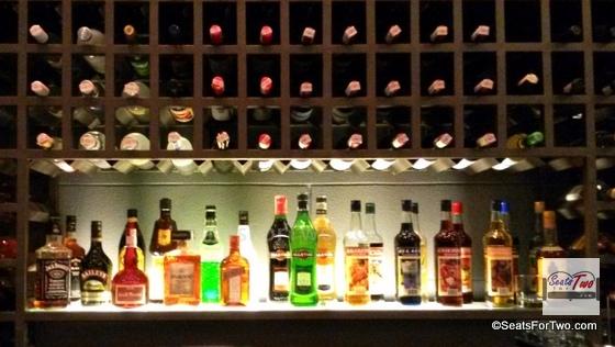 Premium WIne Collection @ the SIlk Road Bistro Bar