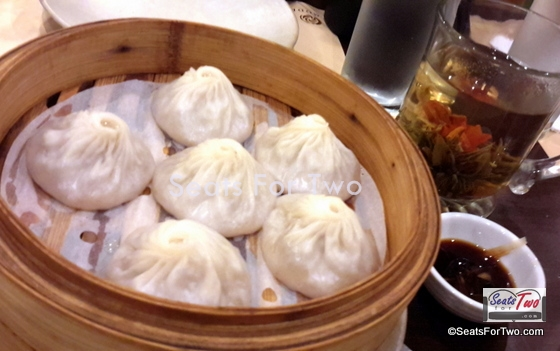 Xiao Long Bao with Blooming Tea