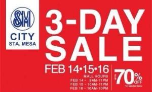 SM City Sta.Mesa Sale