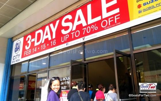 SM Sta.Mesa 3-Day Sale