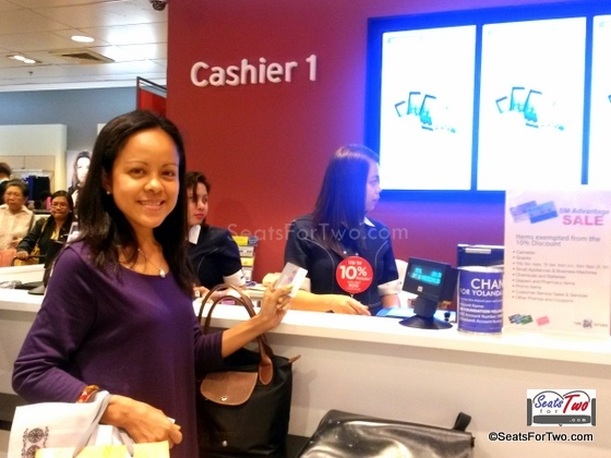 Payment @ the Cashier with Metrobank Prepaid Card