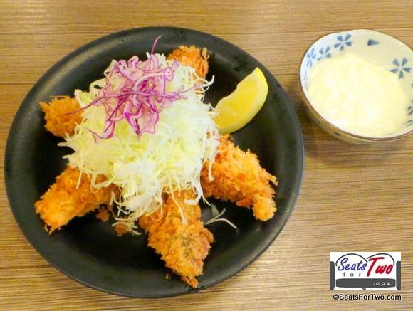 Oyster Katsu
