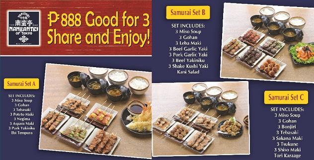 Nanbantei Samurai Sets A, B, C