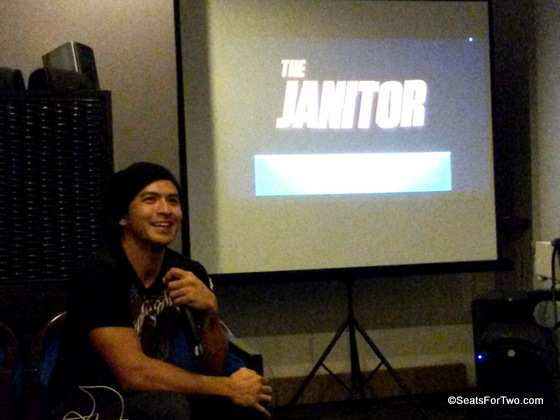 """The Janitor"" in Cinemalaya 2014"