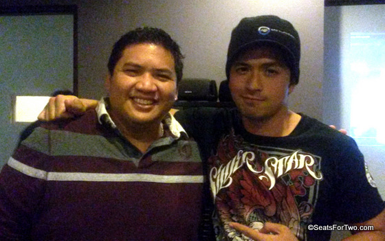 Dennis Trillo with Director Mike Tuviera