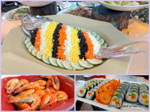 Appetizers @ Lunch Buffet