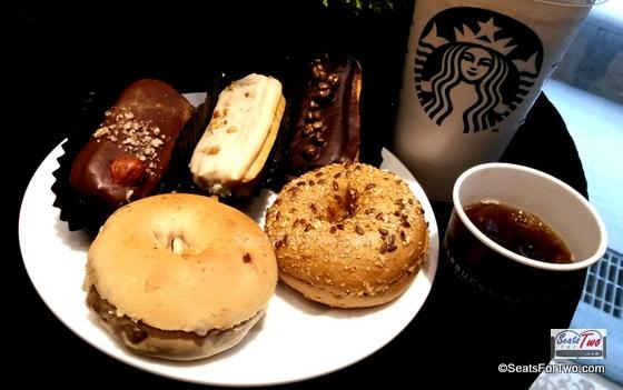 Starbucks Reserve New Food Items