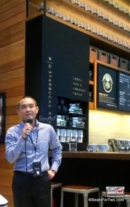 Starbucks Reserve Coffee Launch
