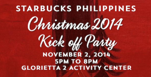 Starbucks Christmas Kick-Off Party