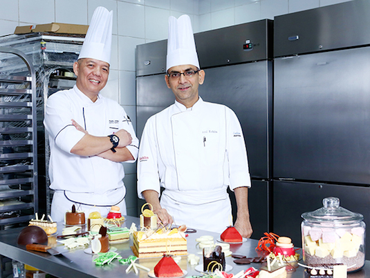 Marriott Manila's Executive Chef Fil Afable