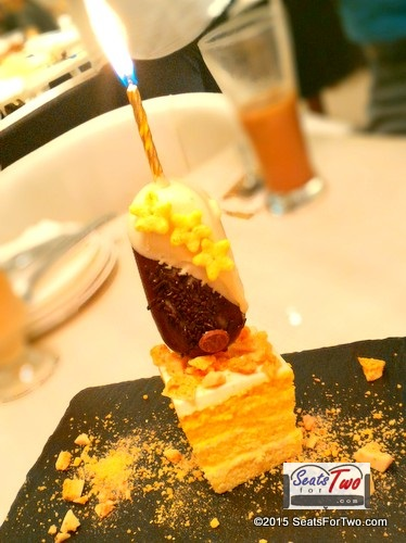 Magnum Anniversary Cake