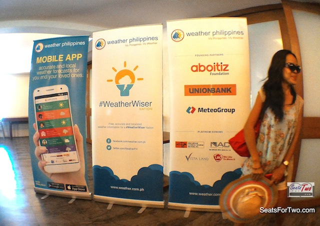 WeatherPhilippines' Blogger Event