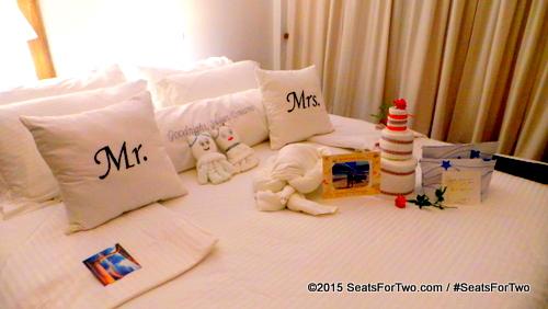 Charming bedroom set-up