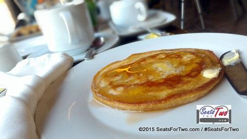 Pancakes at Club Paradise