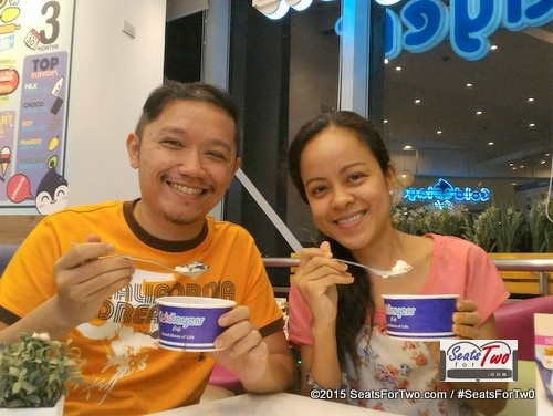 Snow Ice For Two at Cold Layers Fisher Mall