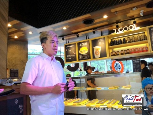 Mr. Putra Andrean, J.Coffee specialist in Indonesia