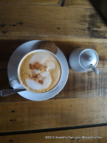 """Cappuccino at """"The Brewery By The Palace"""""""