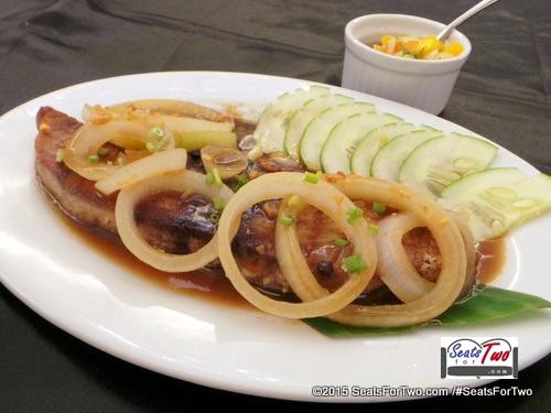 Tuna Steak in Mango Salsa (195)