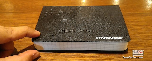 Red Starbucks Planner