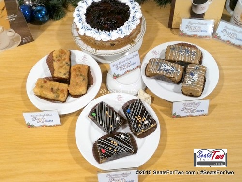 Figaro Holiday Cake and Pastries
