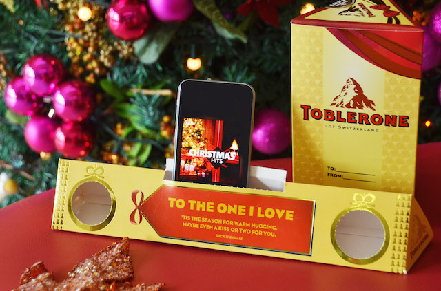 Toblerone Boom Box