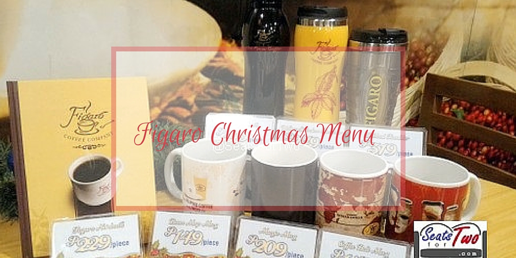 Figaro Christmas Menu