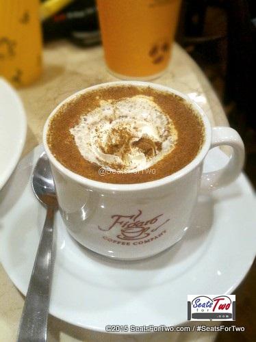 Figaro Hazelnut Cinnamon Latte