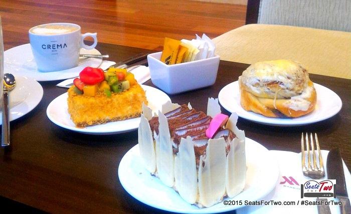 Dessert at Crema