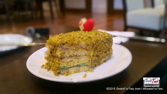 Yummy cakes at Crema