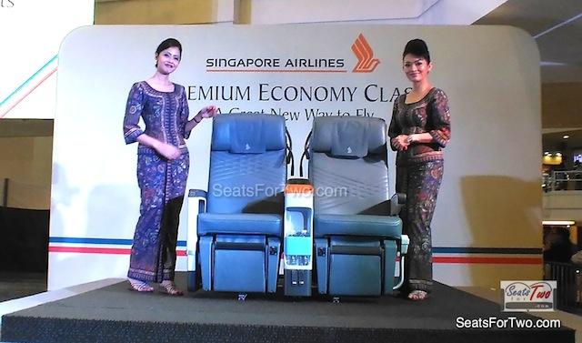 Singapore Airlines Premium Economy Class Cabin