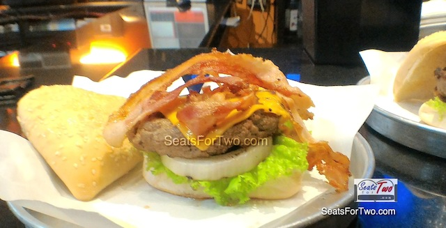 Cheese & Bacon Burger