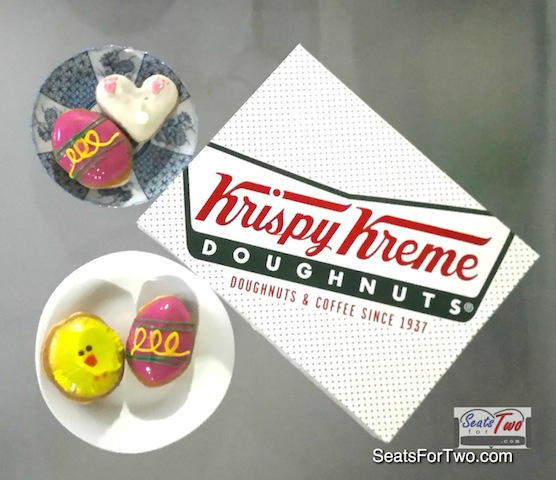 Easter at Krispy Kreme