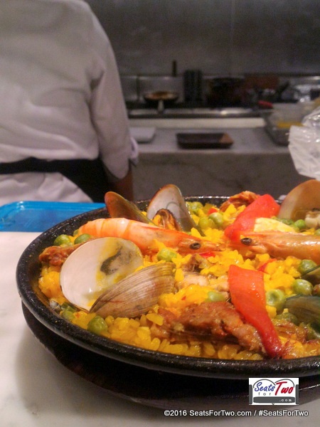 Paella at Alqueria