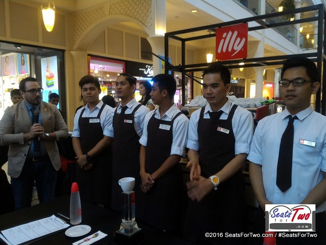 illy Caffe Barista Challenge 2016
