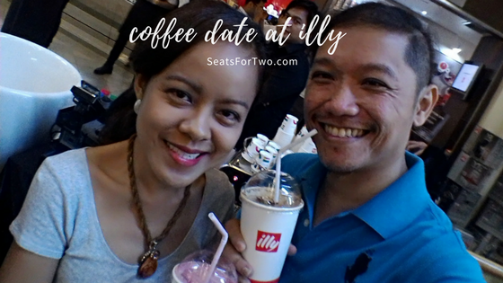 Coffee Date at illy Caffe