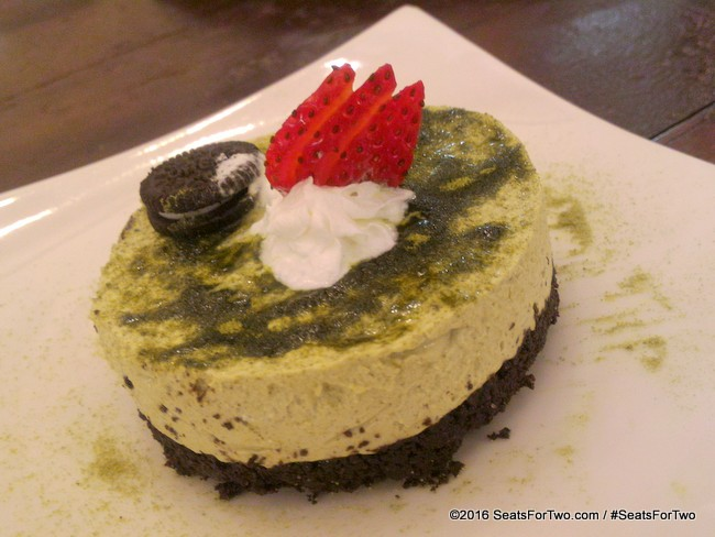 Oreo Crusted Kyoto Cheesecake
