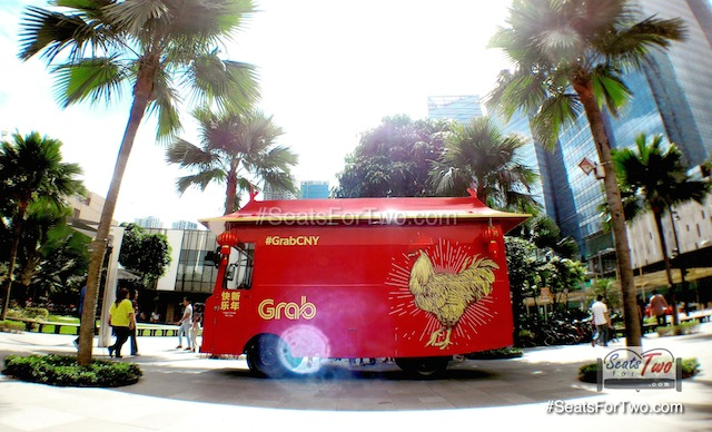 Grab Chinese New Year Food Truck