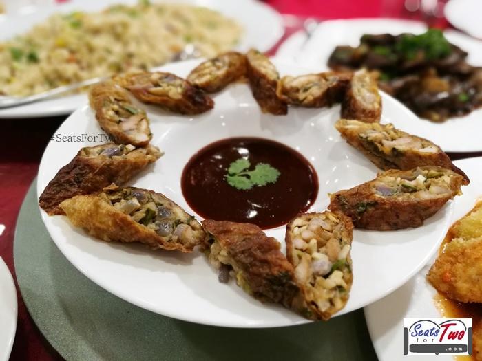 Five Spice Kikiam, restaurant's specialty dish
