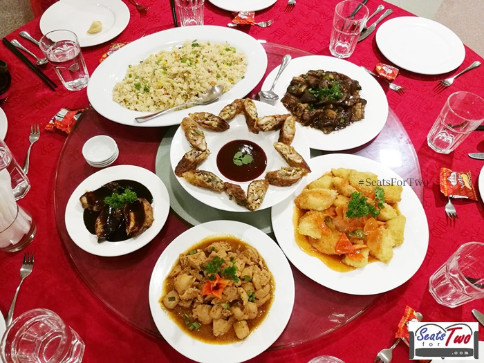 Chinese New Year feast at Five Spice restaurant