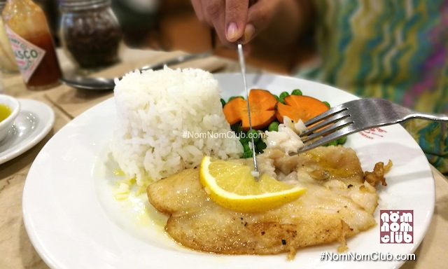 Lemon Butter Fish Fillet