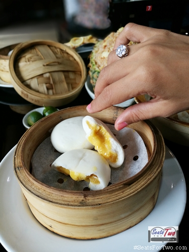 Custard Salted Egg Bun
