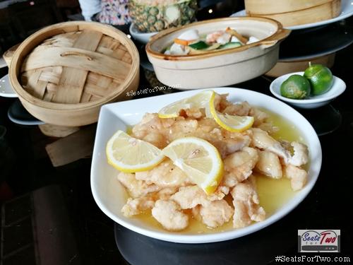 Tien Ma's Honey-Lemon-Chicken
