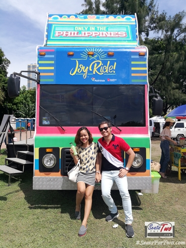 JoyRide Bus by Nutri Asia in Luneta