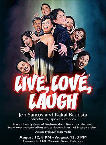 Live Love Laugh Resorts World Manila