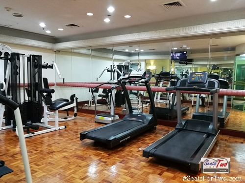 The Gym at the Heritage Hotel Manila