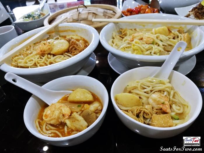 Tom Yum & Laksa Noodles