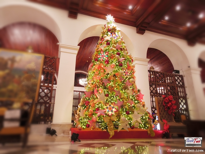 Manila Hotel's lovely Christmas Tree