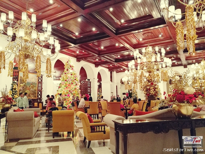 Manila Hotel Annual Tree Lighting Ceremony