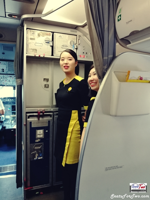 Friendly Fly Scoot Stewardess